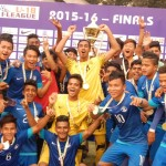 AIFF Elite Academy Team With Trophy 2