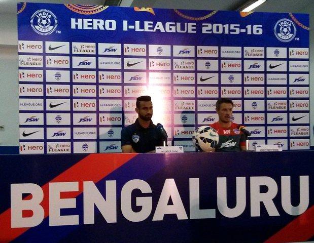 Bengaluru FC Face DSK Shivajians Test Tomorrow