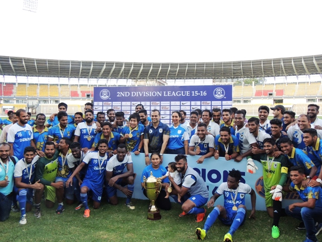 Dempo SC Back Into Hero I-League After A Thumping Win