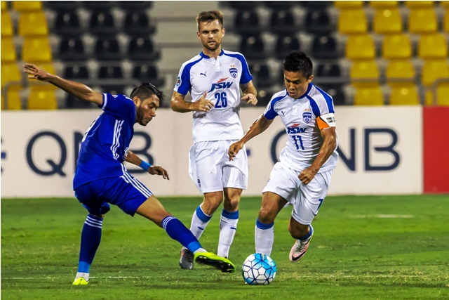 JSW Bengaluru FC Fall Short Of Their Goal By A Goal