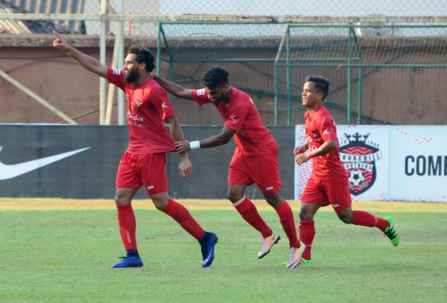 Churchill's 3-match Winning Spree Halted By Lajong