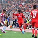 Jayesh in action against Bagan