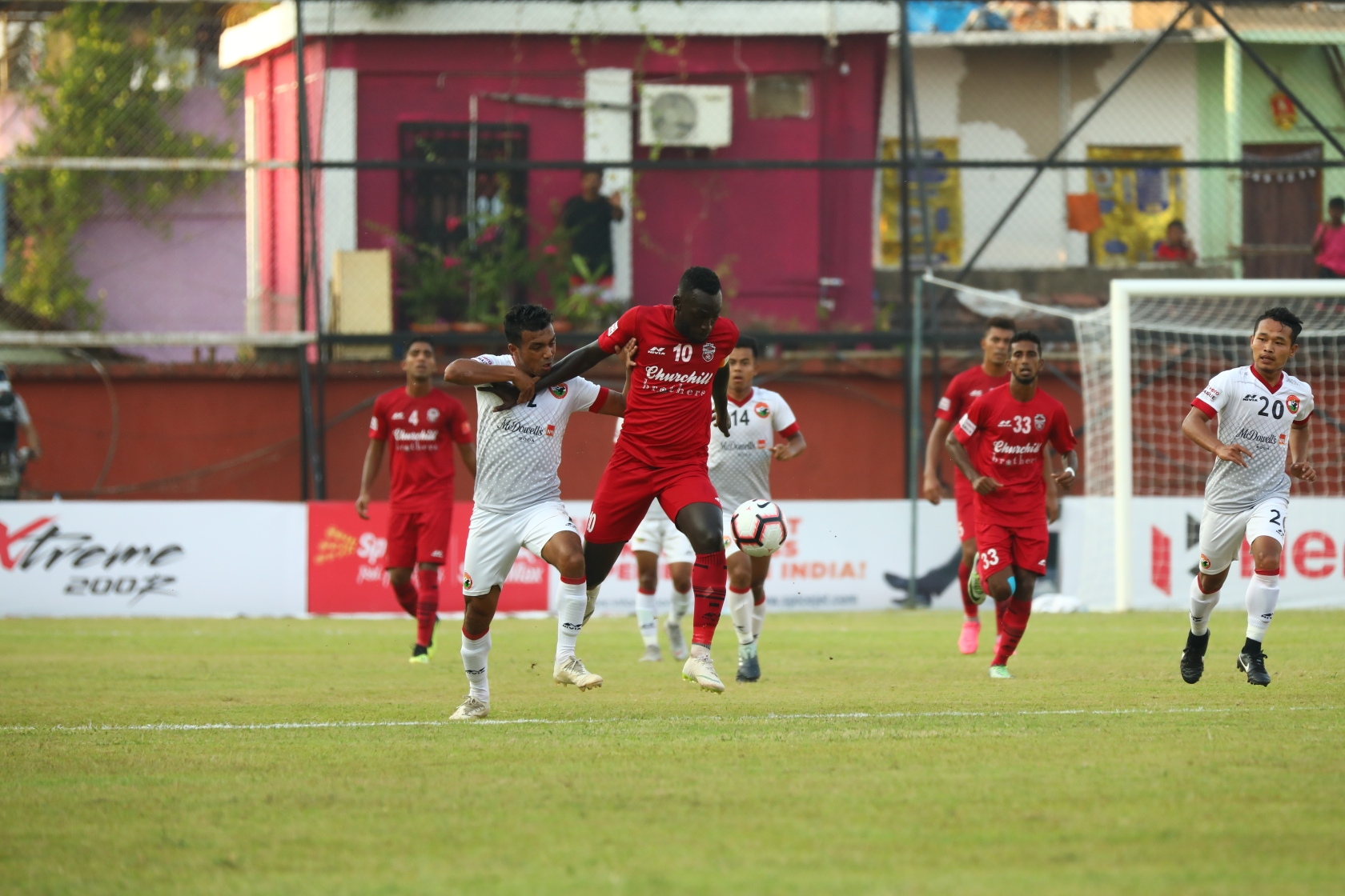 Churchill Brothers showed no mercy against a young and all-Indian Shillong Lajong side