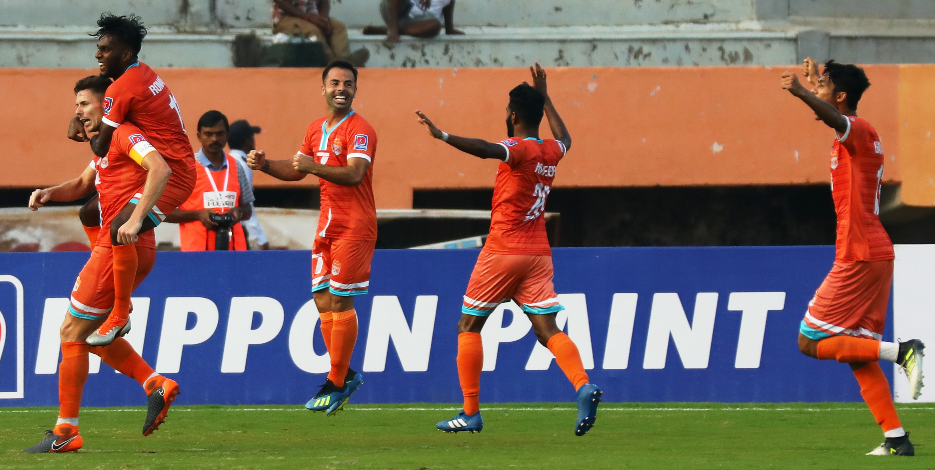 There is no stopping Chennai City FC this season