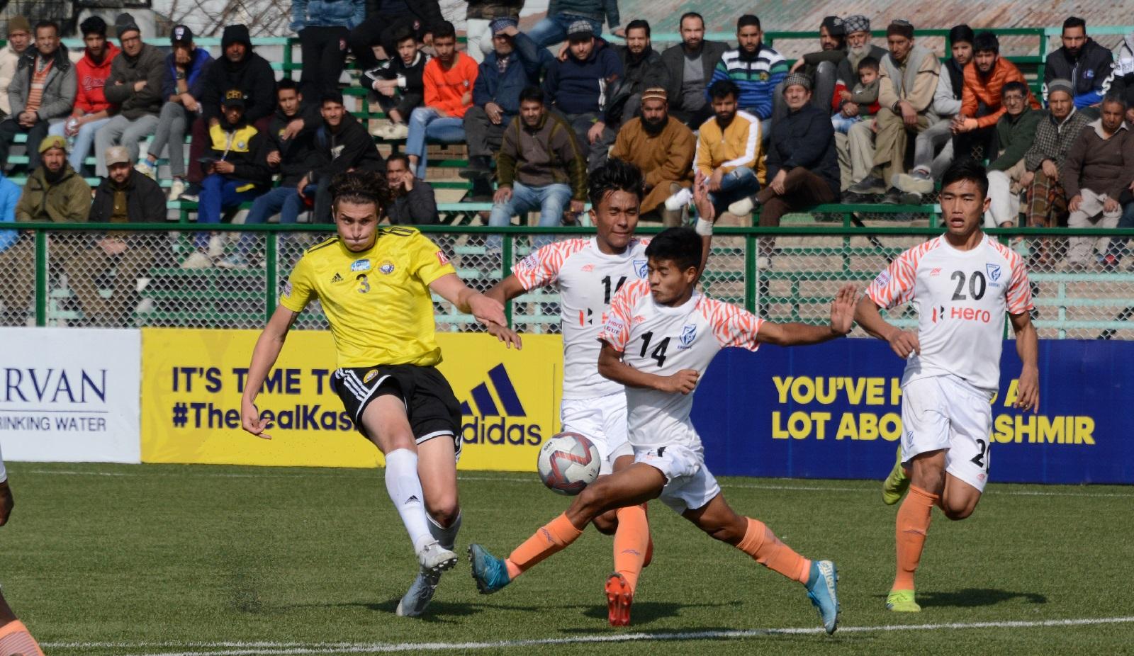 Mason Robertson, Ricky Shabong, Real Kashmir, Indian Arrows